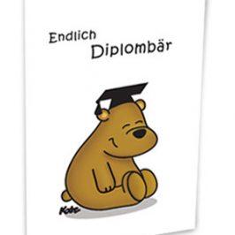 Endlich Diplombär…