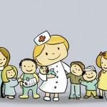 Kinderkrankenschwester