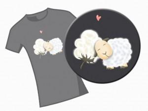 Schaf mag Baumwolle
