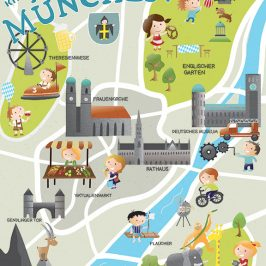 MATS Part B Week #4 – Editorial – Munich Map for Kids – Kinderstadtplan München