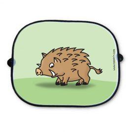 Auto Sonnenschutz Wildschwein