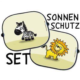 Auto Sonnenschutz Set – Motive frei wählbar