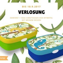 VERLOSUNG – Tolle Chamäleon und Jaguar Brotzeitdosen von MyMepal
