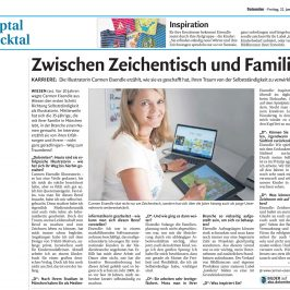 "Interview in der ""Dolomiten"""